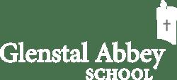 Glenstal Abbey School Logo White-1